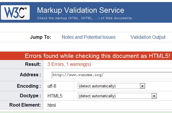 проверка валидности html