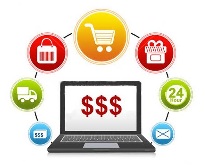 Маркетинг интернет-магазинов: схематично