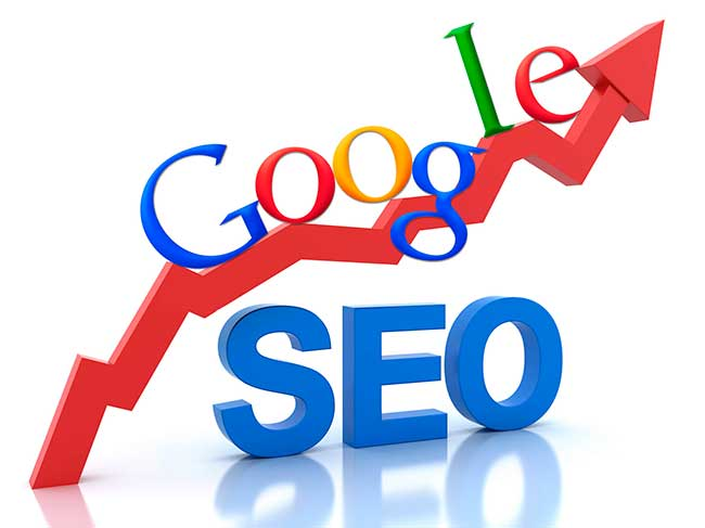 Комплексное продвижение сайта в поисковых системах: сео график красный вверх