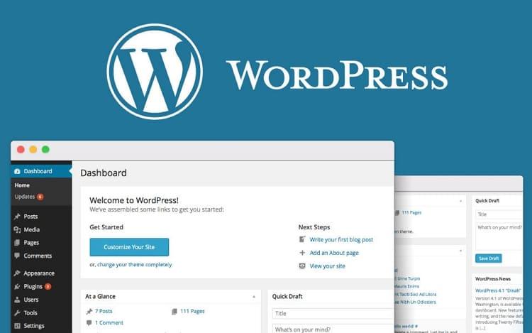 установить шаблон сайта на WordPress